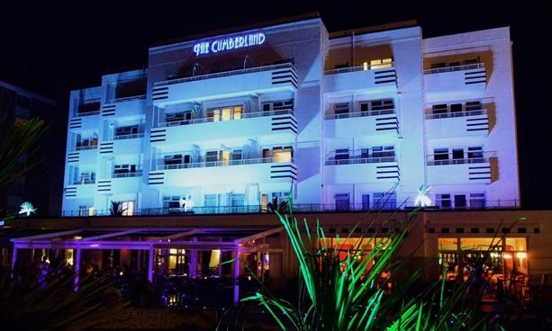 The Cumberland Hotel in Bournemouth